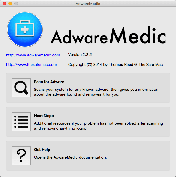 Como eliminar Advanced Mac Cleaner con AdwareMedic