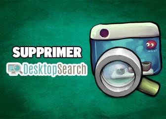 supprimer desktop search