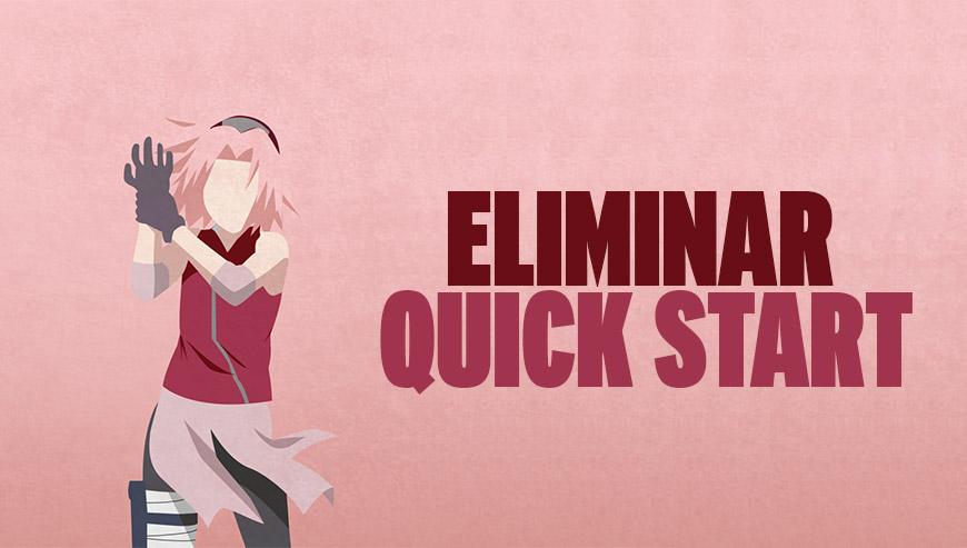 eliminar quick start