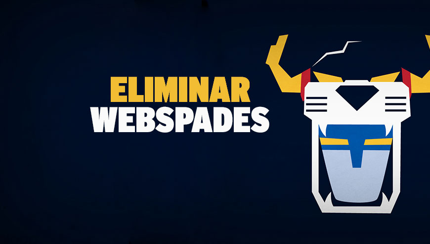 Eliminar Webspades