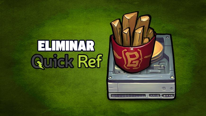 Eliminar QuickRef - ¿Cómo Eliminar?