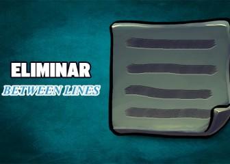 eliminar between lines