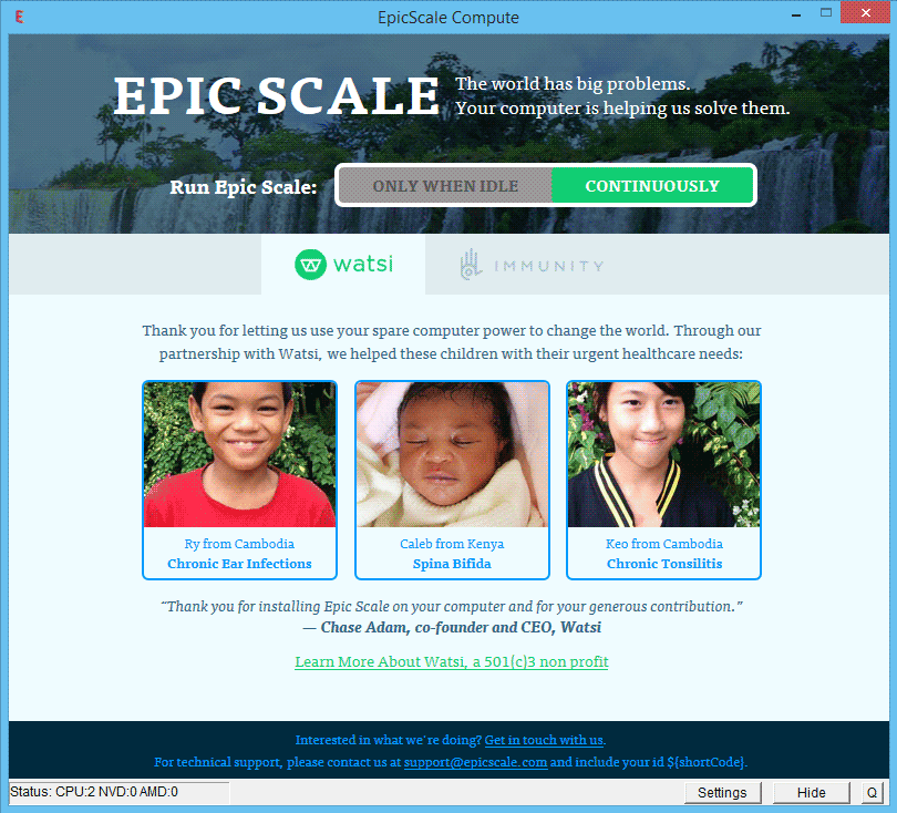epic scale