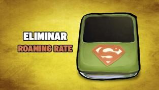 eliminar roaming rate