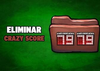 eliminar crazy score