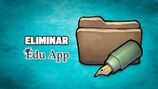 eliminar edu app