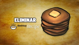 eliminar desktop recipe