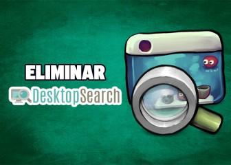 eliminar desktop search