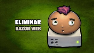 eliminar razor web