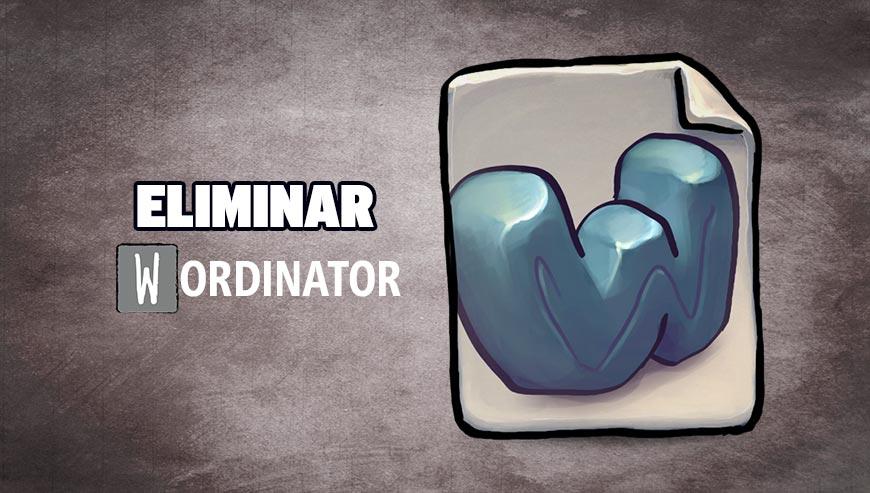 Eliminar Wordinator