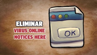 eliminar virus online notices here
