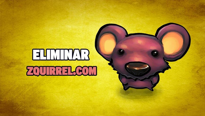 Eliminar Zquirrel.com