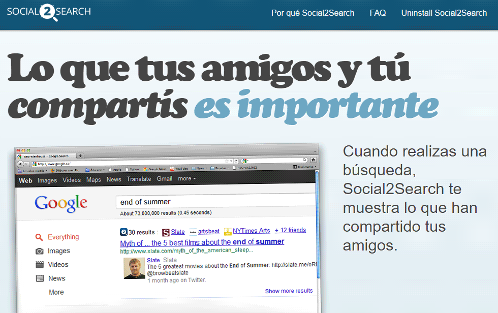 eliminar social2search