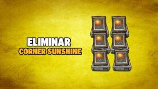 eliminar corner sunshine