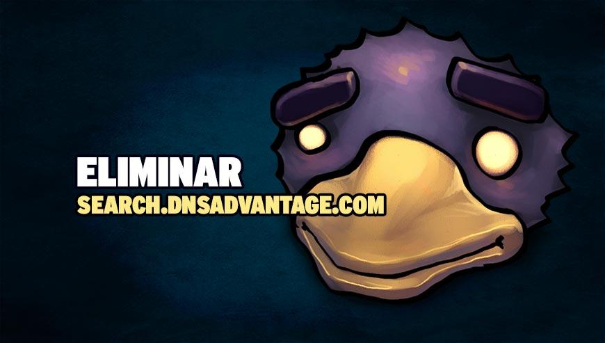 Eliminar search.dnsadvantage.com