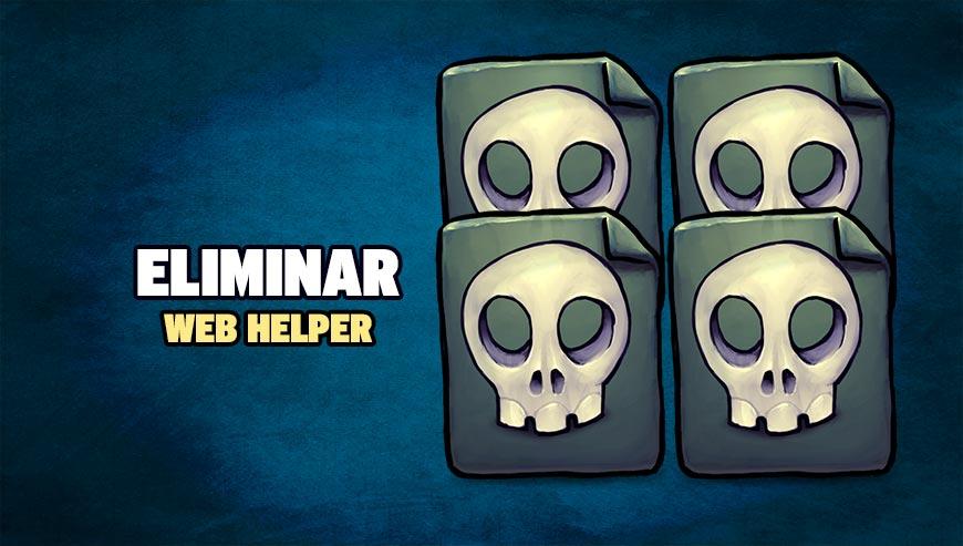 Eliminar Web helper
