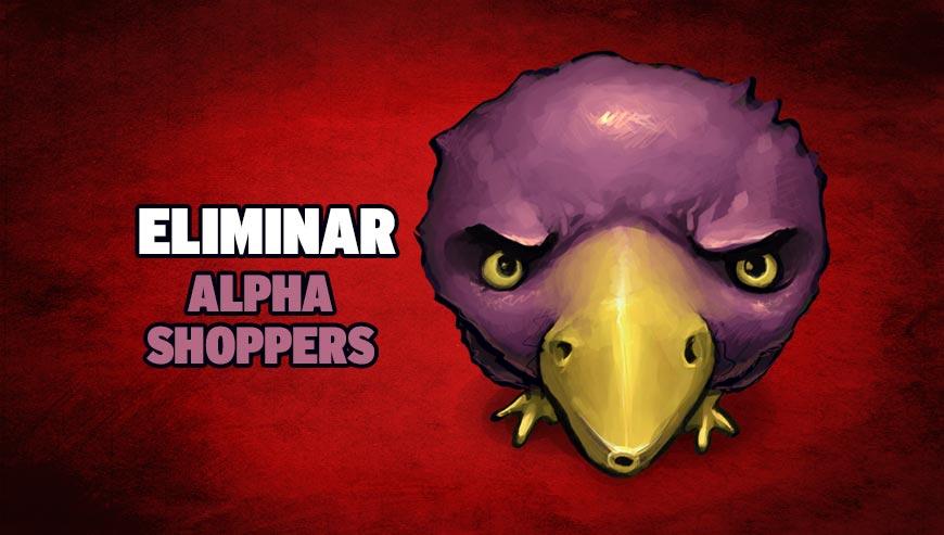 Eliminar Alpha Shoppers