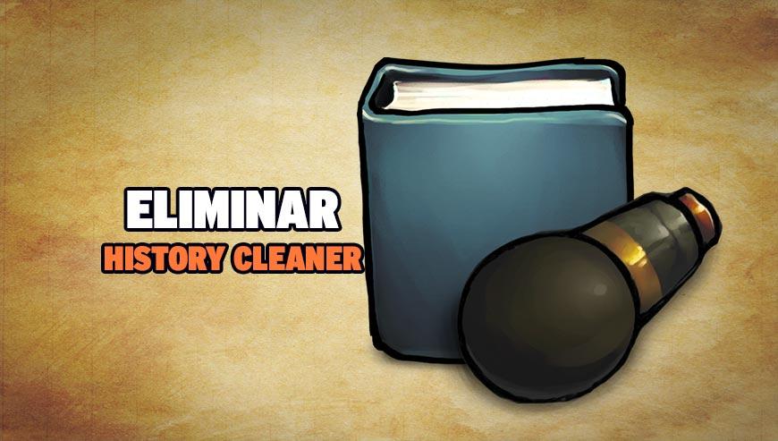 Eliminar History Cleaner